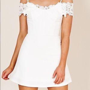 The Girls Way dress in white